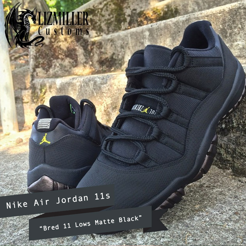 0b62be5e2d400e 12 Best All Black Nike Air Jordans (Customs and OG)