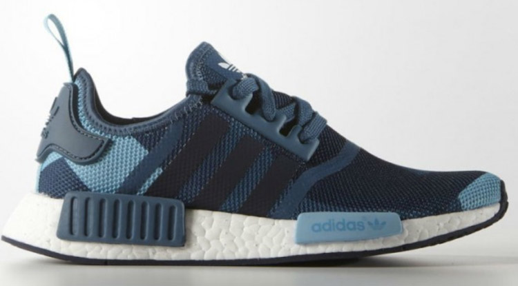 adidas NMD womens blanch blue