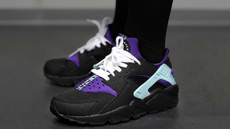 Nike,Air,Huarache,Black,Court,Purple