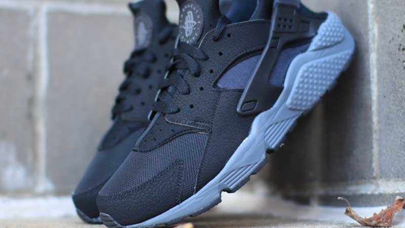 Nike-Air-Huarache-Black-Dark-Grey