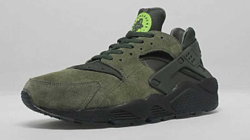 new products ad60d e1c01 Nike-Air-Huarache-Cargo-Green
