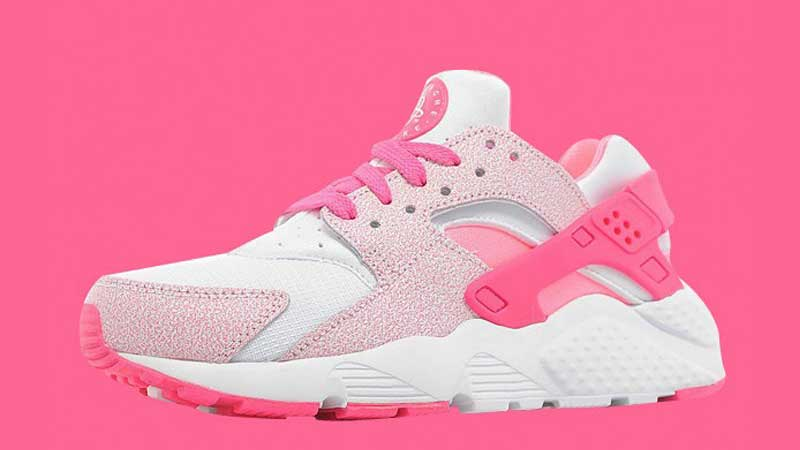 newest a4bc6 1348a Nike-Air-Huarache-GS-Pink-Pow