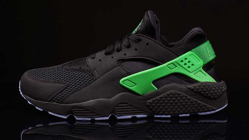 Nike-Air-Huarache-Poison-Green