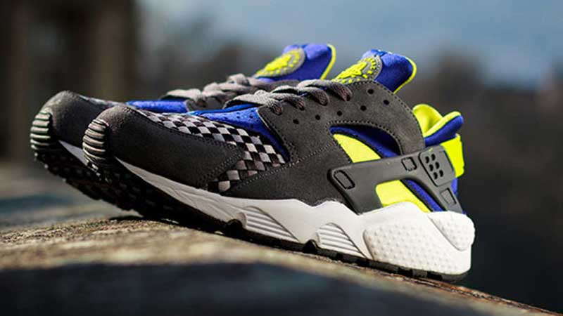 cheaper 82b01 fac19 ... promo code for nike air huarache woven venom green 2fff0 eb919
