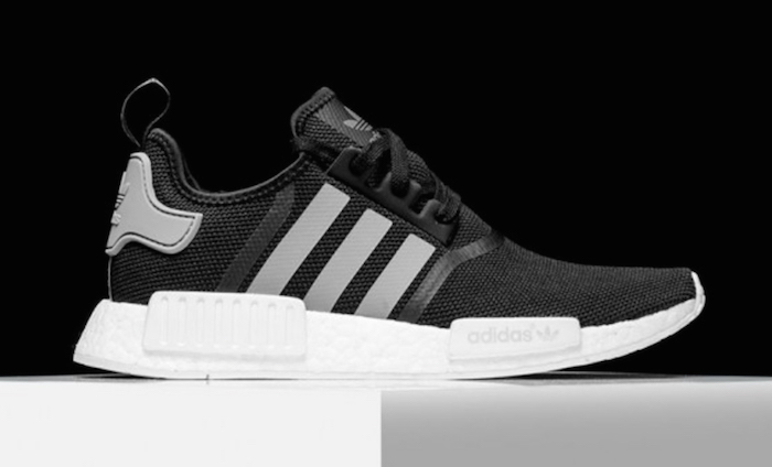 adidas NMD R1 Black White Grey
