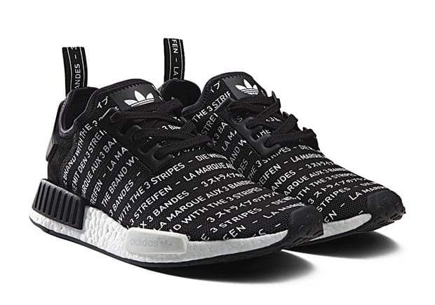 adidas nmd whiteout blackout pack black