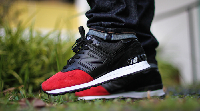 Black Red Gray New Balance  Shoes
