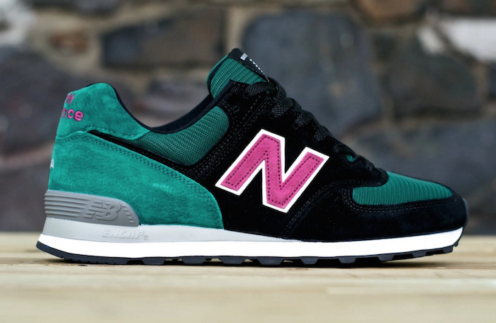 new balance 574 custom midnight rose