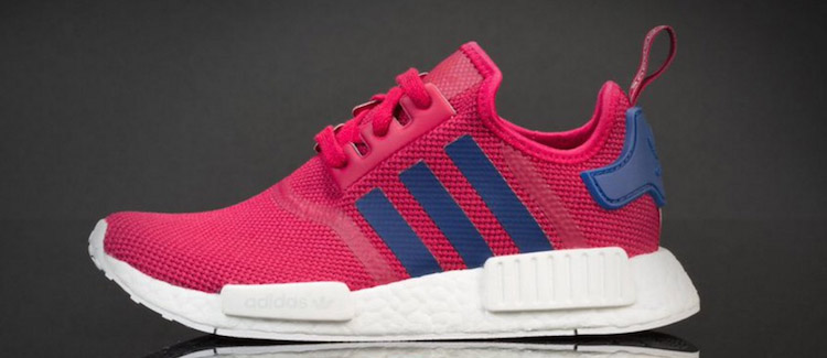 adidas NMD womens pink blue