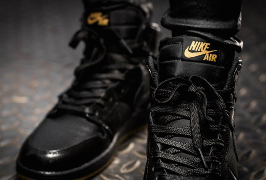jordan-1-on-feet-black-gum