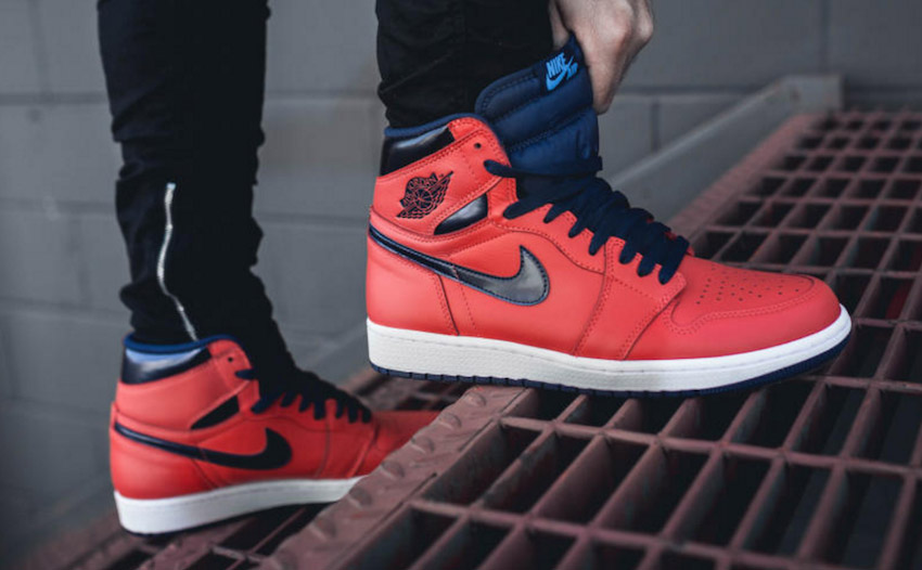 Nike Air Jordan 1 On Feet David Lettermans