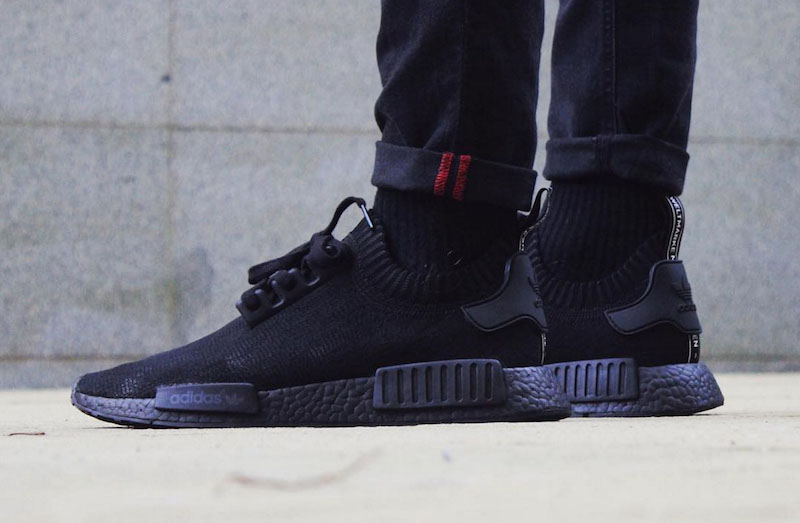 NMD Triple Black Customs