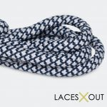 Navy Blue Rope Shoelaces Find