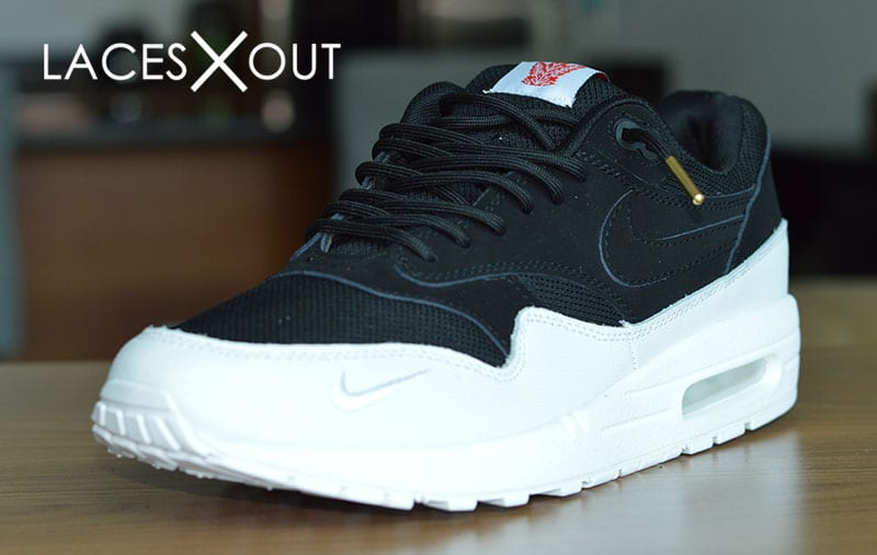 Black Air Max 1 Laces