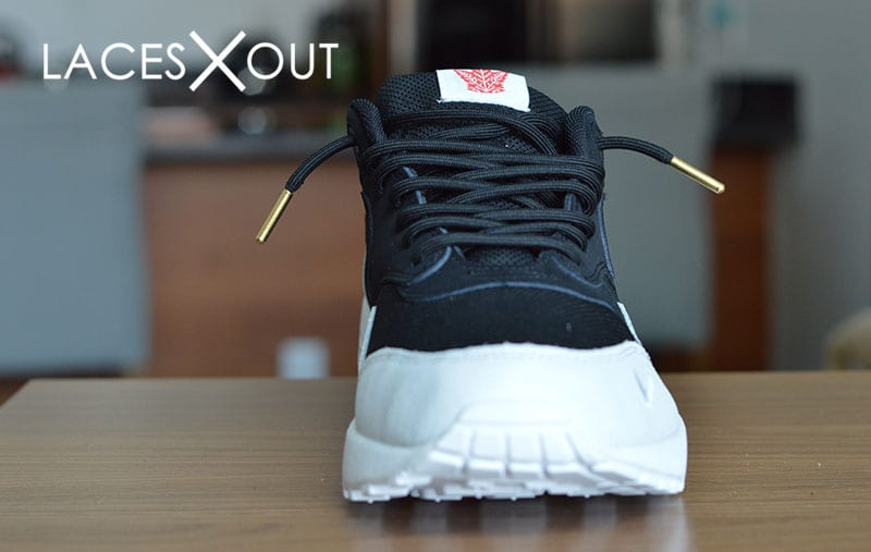 huge discount fb24e 8f4f6 Gold Tipped Air Max Laces