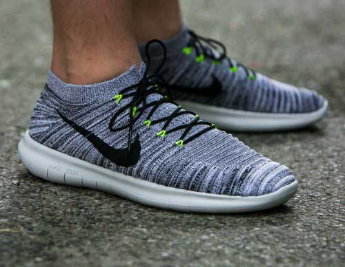 nike free run motion flyknit new color way